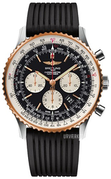 Breitling Navitimer 01 46mm Sort/Gummi Ø46 mm UB012721-BE18-252S-A20D.2