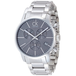 Calvin Klein City Sort/Stål Ø43 mm K2G27143