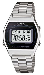 Casio Casio Collection LCD/Stål 38.9x35 mm B640WD-1AVEF