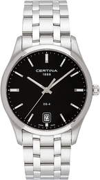 Certina DS 4 Sort/Stål Ø40 mm C022.610.11.051.00