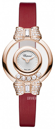 Chopard Happy Diamonds Icons Hvid/Satin Ø25.8 mm 209425-5001