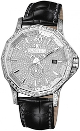 Corum Admirals Cup Legend 42 Diamantudsmykket/Læder Ø42 mm 395.119.69-0081 GR34