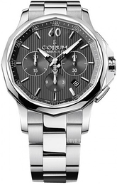 Corum Admirals Cup Legend 42 Sort/Stål Ø42 mm 984.101.20-V705 AN10