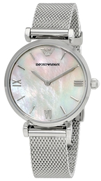Emporio Armani Dress Hvid/Stål Ø32 mm AR1955