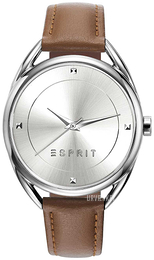 Esprit Dress Sølvfarvet/Læder Ø36 mm ES906552002