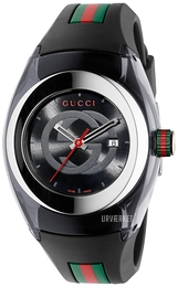 Gucci Sort/Gummi Ø36 mm YA137301