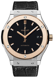 Hublot Classic Fusion Sort/Læder Ø38 mm 565.NO.1181.LR