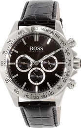 Hugo Boss Ikon Sort/Læder Ø44 mm 1513178