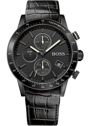 Hugo Boss Rafale Sort/Læder Ø44 mm 1513389