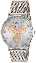Kenneth Cole Fashion Sølvfarvet/Stål Ø41 mm 10031469