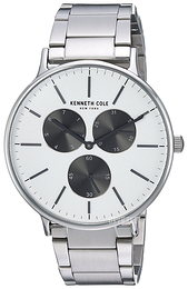Kenneth Cole Multifunction Sølvfarvet/Stål Ø41 mm KC14946007