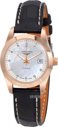 Longines Conquest Ladies Læder Ø29.5 mm L2.285.8.87.3