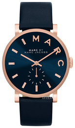 Marc by Marc Jacobs Blå/Læder Ø36 mm MBM1329