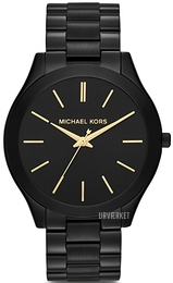 Michael Kors Runway Sort/Stål Ø42 mm MK3221