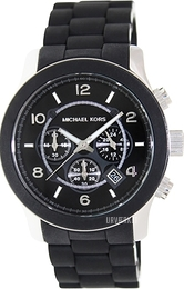 Michael Kors Runway Sort/Plast Ø42 mm MK8107