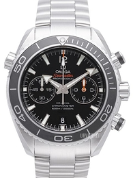Omega Seamaster Planet Ocean 600m Co-Axial Chronograph 45.5mm Sort/Stål Ø45.5 mm 232.30.46.51.01.001