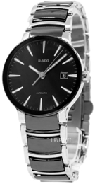Rado Centrix Sort/Stål Ø38 mm R30941152