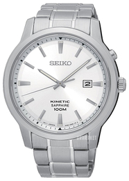 Seiko Kinetic Sølvfarvet/Stål Ø43 mm SKA739P1