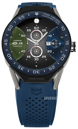 TAG Heuer Connected Modular 45 Flerfarvet/Gummi Ø45 mm SBF8A8012.11FT6077