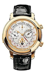 Patek Philippe Grand Complications Sky Moon Tourbillon Hvid/Læder Ø42.8 mm 5002J/001