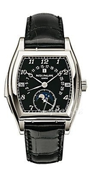 Patek Philippe Grand Complications Sort/Læder 46.4x36 mm 5013P/010
