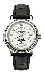 Patek Philippe Grand Complications Hvid/Læder Ø36.8 mm 5016P/010