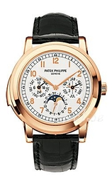 Patek Philippe Grand Complications Hvid/Læder Ø42 mm 5074R/012